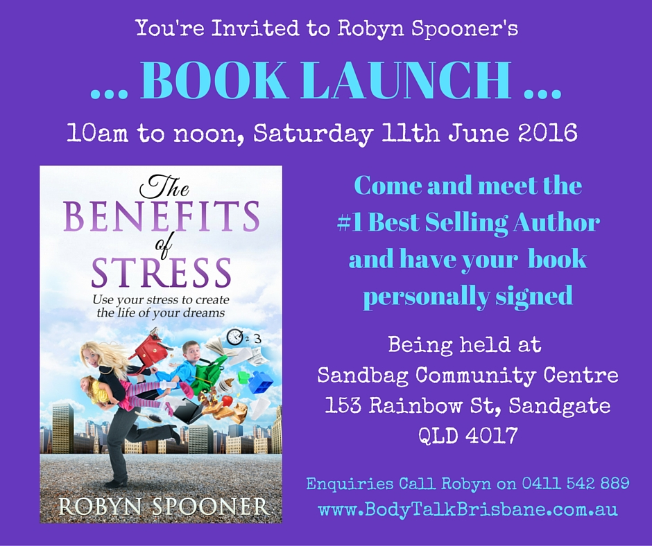Benefits of Stress Book Launch